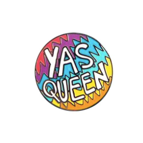 Yas Queen Enamel Pin
