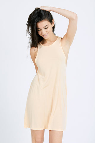 The Rhythm Dress by Joah Brown in Apricot