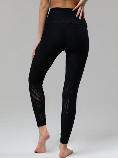 Selenite Midi Legging by Onzie in Black