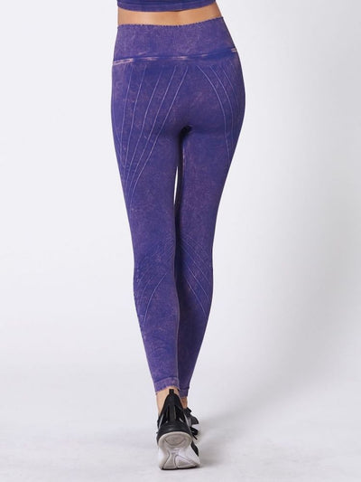 Mesa Legging Mineral Wash Ultramarine by Nux