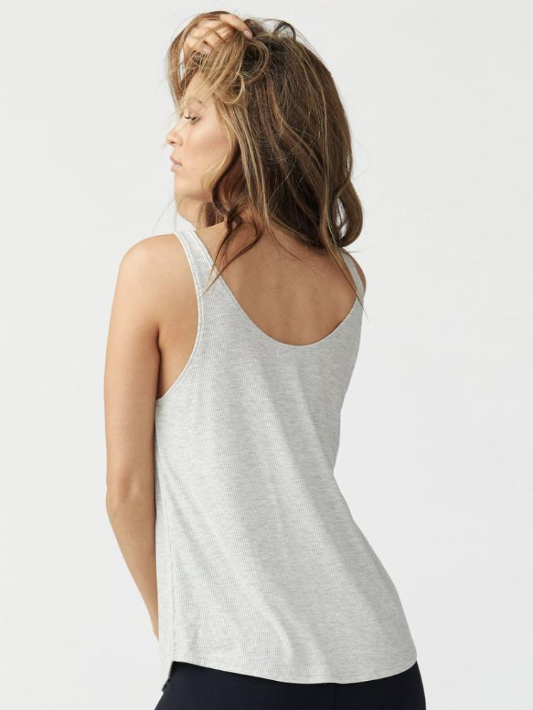 Ideal Tank by Joah Brown in Pearl Grey