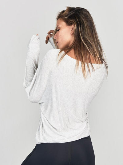 Vital Longsleeve in Pearl by Joah Brown