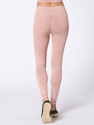 Mesa Legging by Nux in Not Nude (Peach) - back view