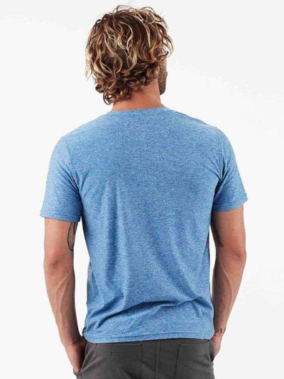 Strato Tee by Vuori in Ocean Heather