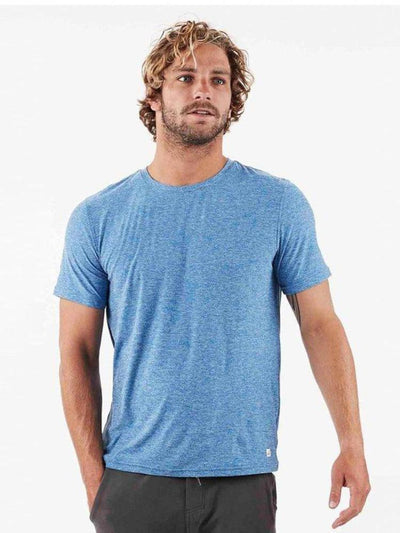Strato Tee by Vuori in Ocean Blue