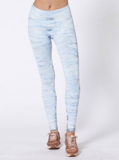 Hand Dyed Mesa Legging by Nux - Sky High (Front)