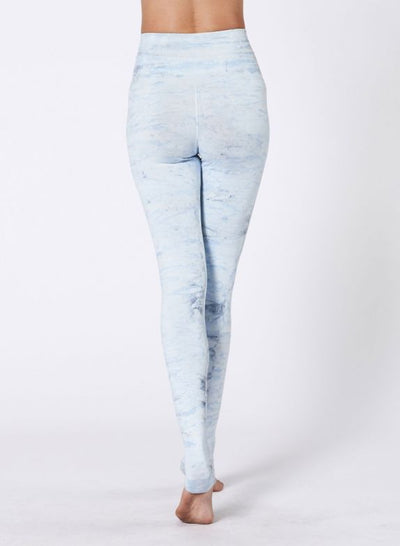 Hand Dyed Mesa Legging by Nux - Sky High (Back)