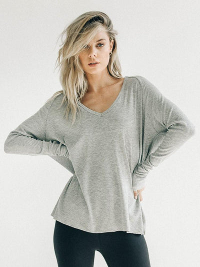 For Keeps V By Joah Brown in Heavy Grey Rib