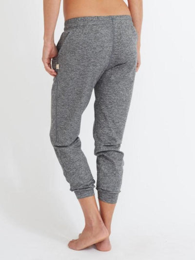 Women's Performance Jogger by Vuori in Heather Grey
