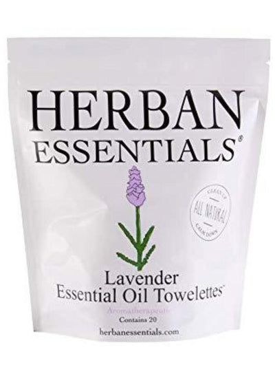Herban Essentials 20 Pack Lavender