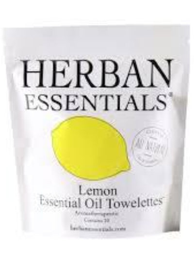 Herban Essentials 20 Pack Lemon