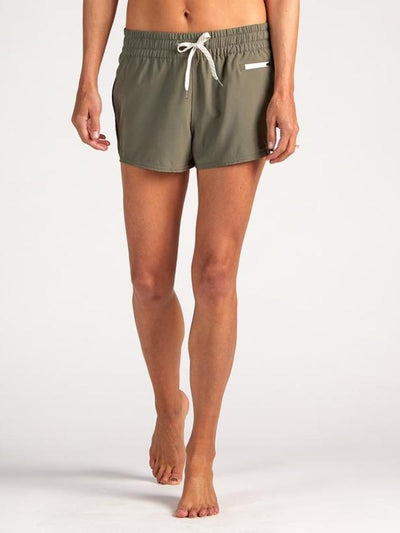 Clementine Short by Vuori in Olive