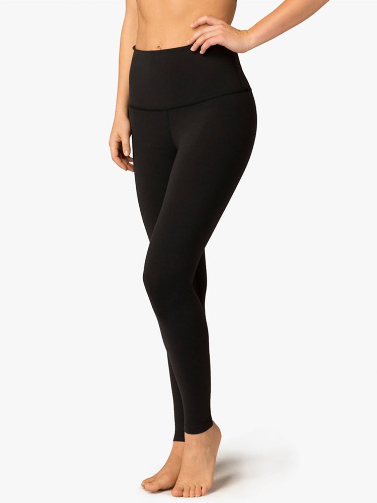 Take Me Higher Yoga Legging by Beyond Yoga in Jet Black
