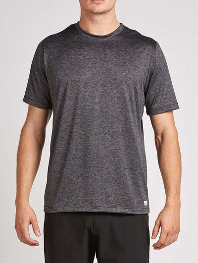 Strato Tech Tee by Vuori in Charcoal