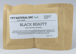 Black Beauty Face Mask
