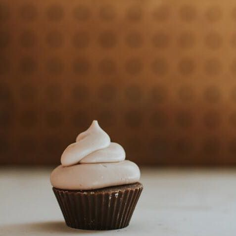 Best Kind Bakeshoppe Almond Cupcake