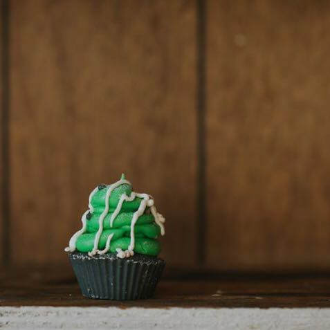 Green Apple Cupcake
