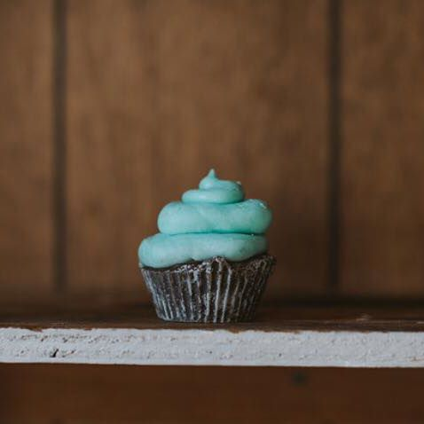 Best Kind Bakeshoppe Mint Chocolate Cupcake