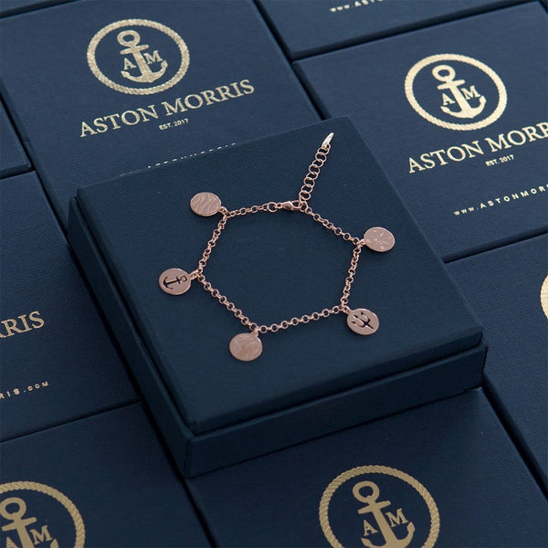 Nautical Charm Rose Gold