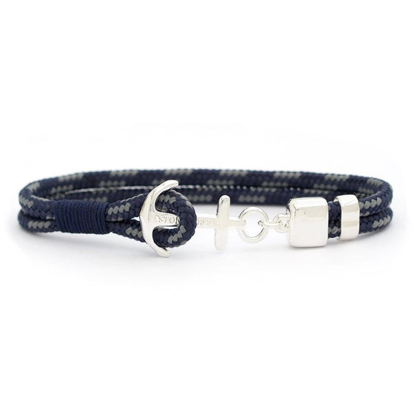 Navy Performance Sterling Silver