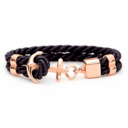 Pitch Black Rose Gold