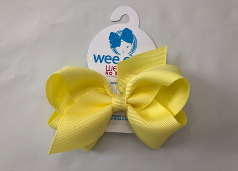 Small Basic Bow Light Yellow