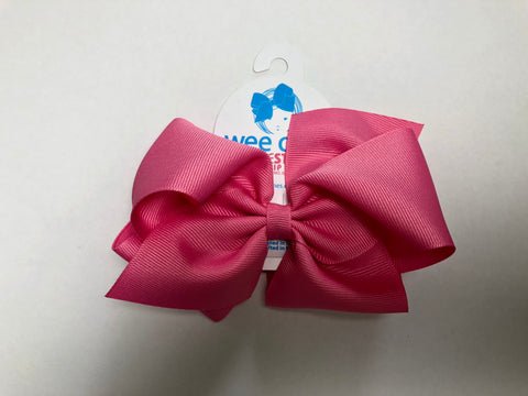 King Mini Bow Hot Pink