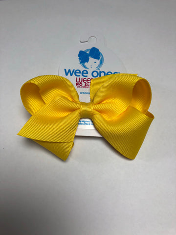 Small Basic Bow Yellow