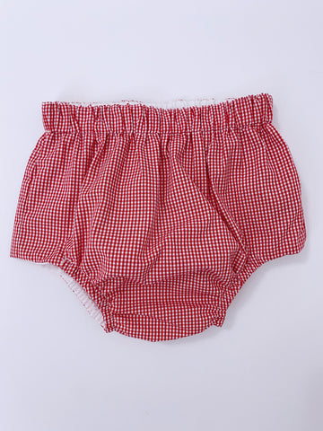 Red Check Bloomers