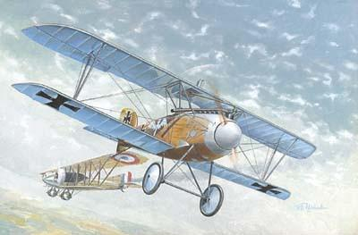 Roden Aircraft 1/72 Albatros D III WWI German BiPlane Fighter Kit