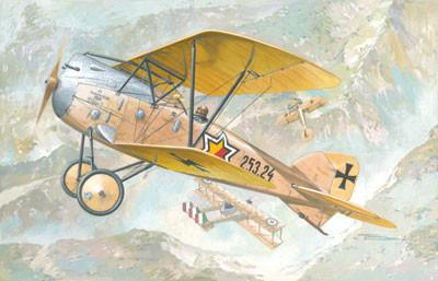 Roden Aircraft 1/72 Albatros D III Oeffag s253 Austro-Hungarian BiPlane Fighter Kit