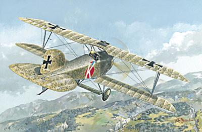Roden Aircraft 1/72 Albatros D III Oeffag s153 (Late) BiPlane Fighter Kit