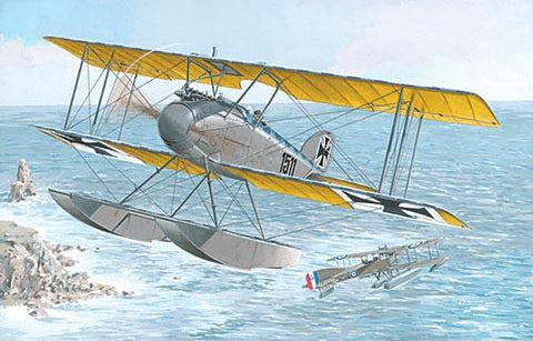 Roden Aircraft 1/72 Albatros W IV (Late) German Fighter Floatplane Kit