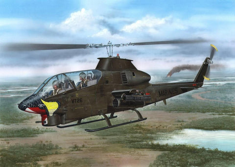 Special Hobby 1/72 AH1G Cobra US Marines Helicopter Kit