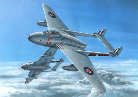 Special Hobby 1/72 DH 100 Vampire Mk 3 Jet Fighter Kit