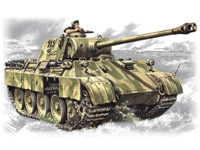 ICM 1/35 WWII German PzKpfw V Panther Hunter Ausf D Tank Kit