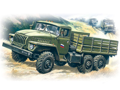 ICM Military Models 1/72 Ural 4320 Army Truck Kit