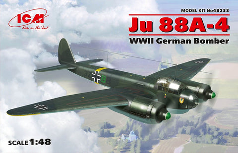 ICM 1/48 WWII German Ju88A4 Bomber Kit