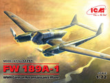 ICM 1/72 WWII German Fw189A1 Recon Aircraft Kit