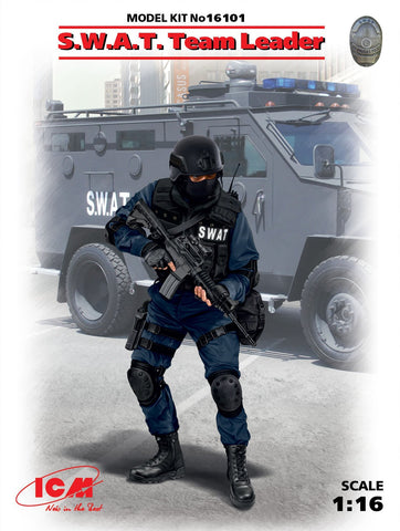 ICM Military Models 1/16 SWAT Team Leader Kit