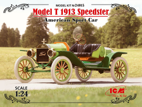 ICM 1/24 American Model T 1913 Speedster Sports Car Kit