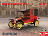 ICM Model Cars 1/24 1910 Type AG Paris Taxi (New Tool) Kit