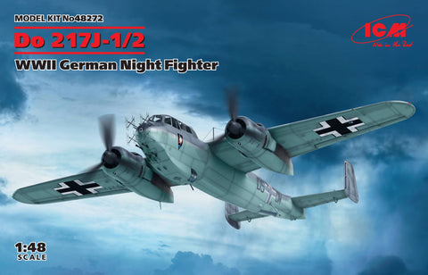 ICM Aircraft 1/48 WWII German Do217J1/2 Night Fighter Kit