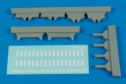 Aerobonus Details 1/32 USAF Missile Maintenance Stands w/V-Shelf Assembly Kit