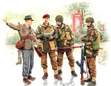 Master Box Ltd 1/35 WWII British Paratroopers Operation Market Garden (4) Kit