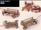 Master Box Ltd 1/35 WWII Era Europe Farmer's Cart Kit