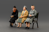 MiniArt 1/35 German Civilians Sitting 1930-40s (5) Kit