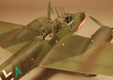 Eduard Aircraft 1/48 Bf110C German WWII Heavy Fighter Profi-Pack Kit