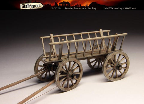 Stalingrad 1/35 Russian farmers Cart For Hay - Mid XIX Century - WWII Era