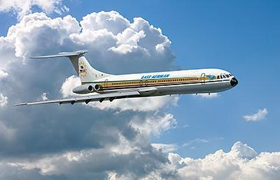 Roden 1/144 Vickers Super VC10 Type 1154 East African Airliner Kit